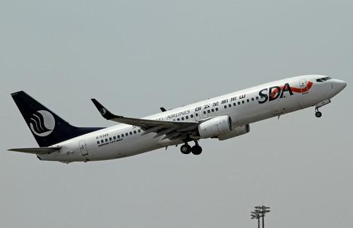 самолет Shandong Airlines